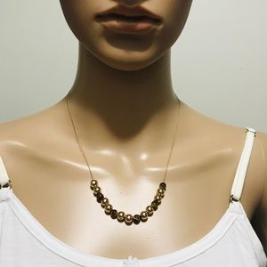 14k Gold and Tiger eye necklace / CODE: WN-124